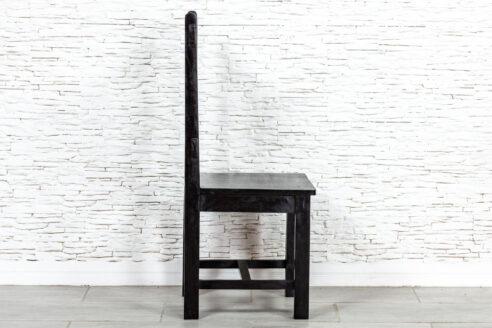 Czarne krzesło sezamowe - Orange Tree meble indyjskie