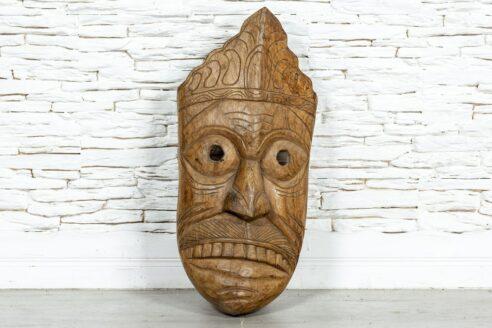 Drewniana maska - Orange Tree meble indyjskie