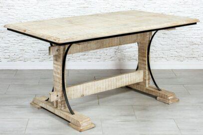 Bielony stół jadalny - Orange Tree meble indyjskie