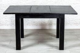 Czarny stół rozkładany - Orange Tree meble indyjskie