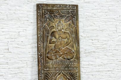 Rzeźbiony panel Budda - Orange Tree meble indyjskie