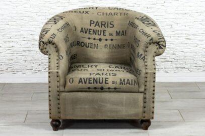 Fotel vintage Paris - Orange Tree meble indyjskie