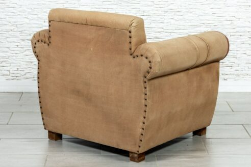 Fotel skóra naturalna USA - Orange Tree meble indyjskie