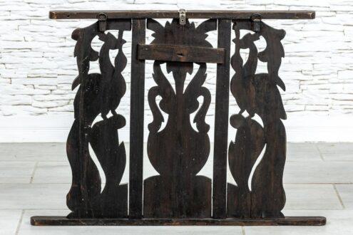 Ażurowy panel z pawiami - Orange Tree meble indyjskie