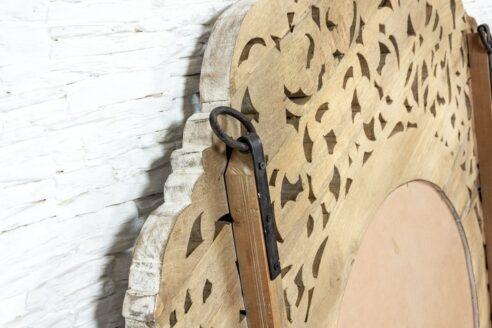 Duża okrągła rama ażurowa 4