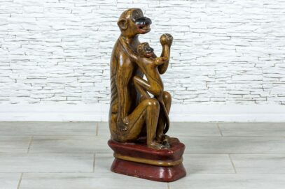 Małpka z dzieckiem 1