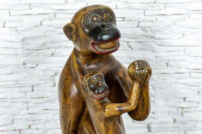 Małpka z dzieckiem 6