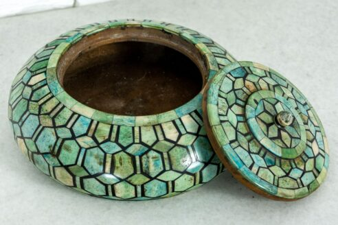 Pudełko opium z morską kością 2