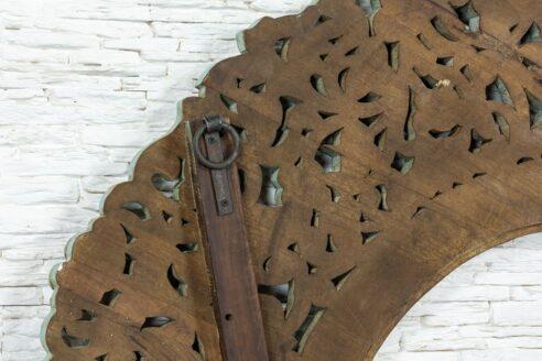Duża ażurowa rama z kwiatkami 5