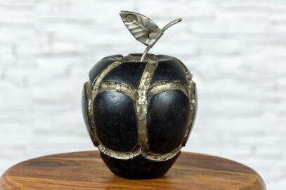 Drewniane jabłko 11cm 1