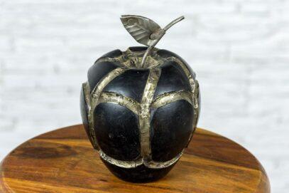 Drewniane jabłko 11cm 2
