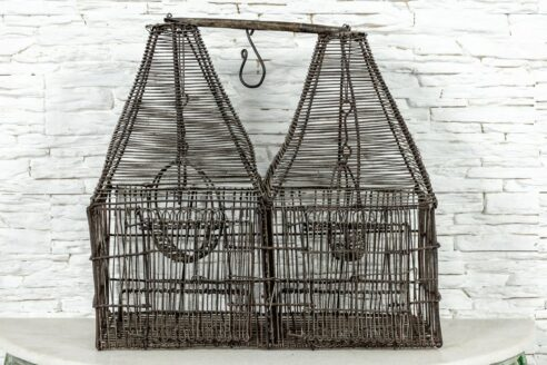 Druciana klatka dla ptaków 1