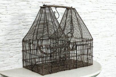 Druciana klatka dla ptaków 2