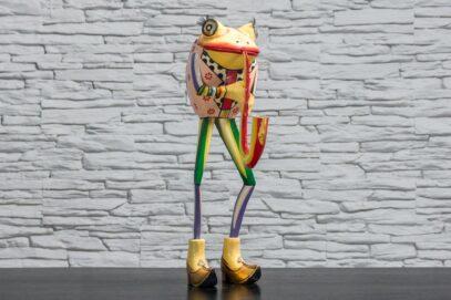 Żaba z saksofonem 1