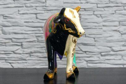 Krowa w tęczowe paski 3