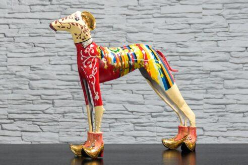 Kolorowy pies - metaloplastyka 2