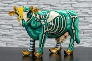 Prześwietlona krowa 1