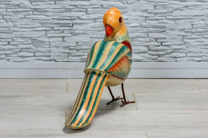 Pomarańczowo-niebieska papuga 3