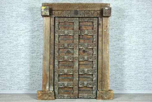 Stare drzwi radżastańskie 1