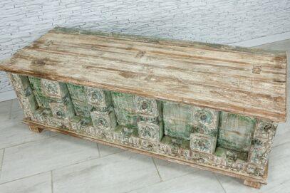 Radżastański kufer ze starych elementów 4