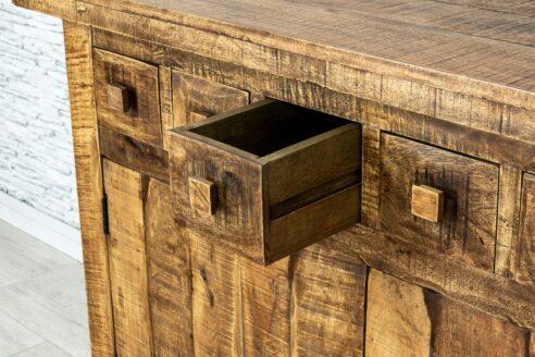 Rustykalna komoda z 6-ma szufladkami 6