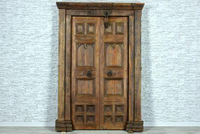 Stare drzwi tekowe 1