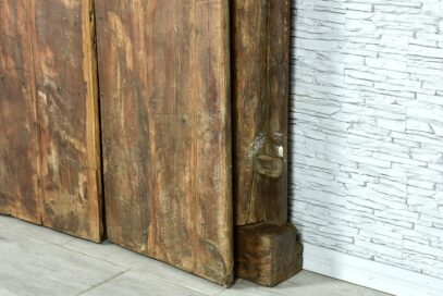 Stare drzwi tekowe 10