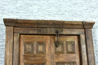 Stare drzwi tekowe 2