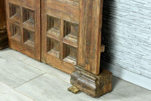 Stare drzwi tekowe 5