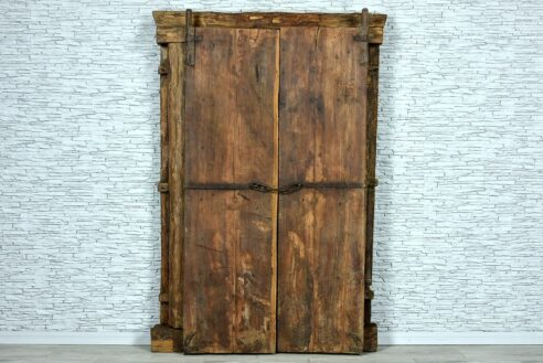 Stare drzwi tekowe 6