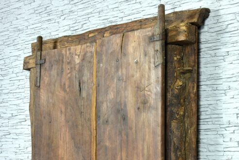 Stare drzwi tekowe 8