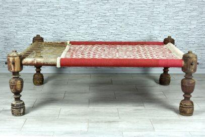 """Stare oryginalne łóżko dzienne """"charpoy"""" 2"""