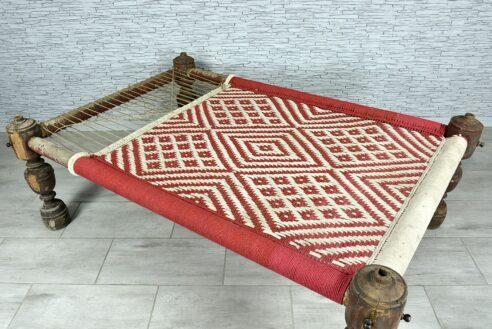 """Stare oryginalne łóżko dzienne """"charpoy"""" 3"""