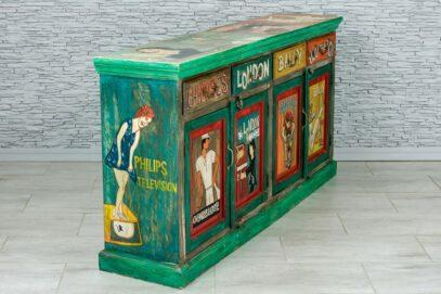 "Kolorowa komoda ""vintage cartoon"" 2"