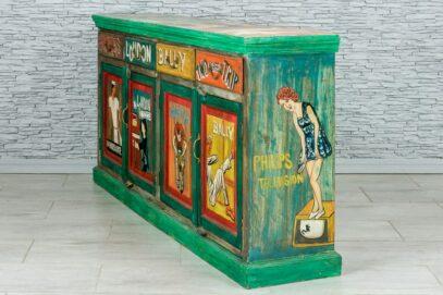 "Kolorowa komoda ""vintage cartoon"" 3"