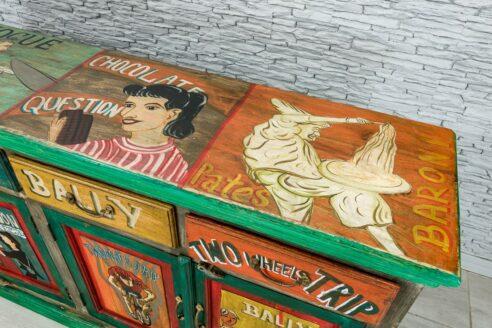 "Kolorowa komoda ""vintage cartoon"" 6"