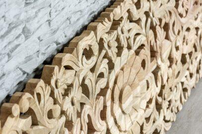 Ażurowo rzeźbiony panel - wzór 100 3