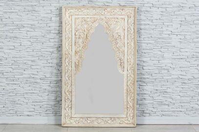 Lustro w bielonej perskiej ramie 1