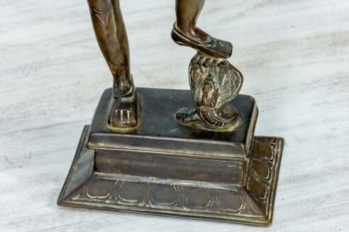 Mosieżna figurka Varaha 45cm 11