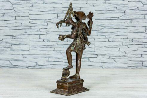 Mosieżna figurka Varaha 45cm 4