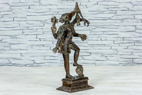 Mosieżna figurka Varaha 45cm 8