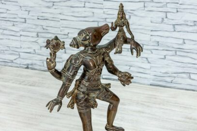 Mosieżna figurka Varaha 45cm 9
