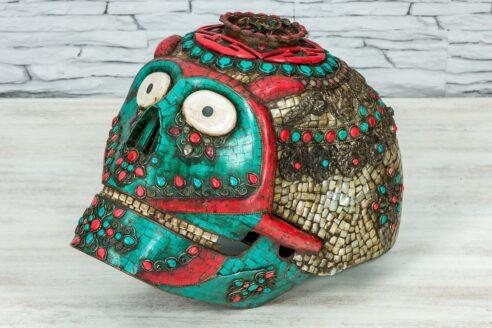 Kolorowa czaszka z Jaipuru 1