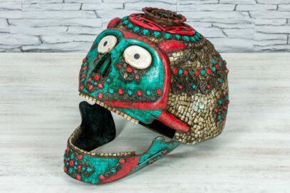 Kolorowa czaszka z Jaipuru 2