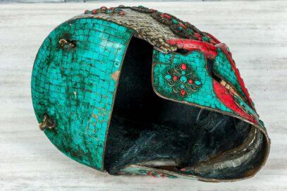 Kolorowa czaszka z Jaipuru 6