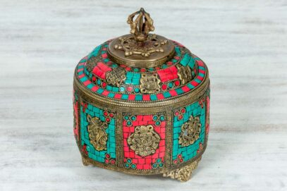 Kolorowa bomboniera z Jaipuru 1