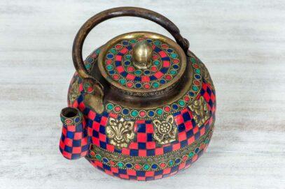 Kolorowy imbryk z Jaipuru 2