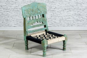 Niskie krzesełko składane 1