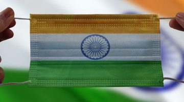 India flag mask