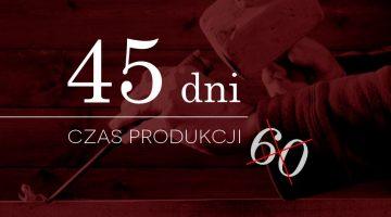 Czas produkcji 45 dni